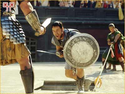 Poznati filmski Gladijator