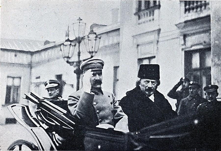 Józef Piłsudski i Ignacy Jan Paderewski (1919.)