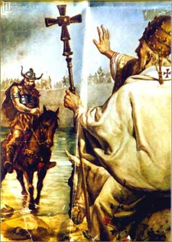 Papa Lav I. zaustavlja Atilu