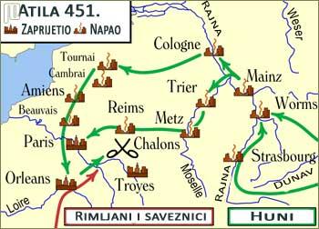 Atilin pohod 451. godine