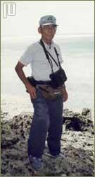 Yamaguchi prilikom povratka na otok Peleliu 1994. godine