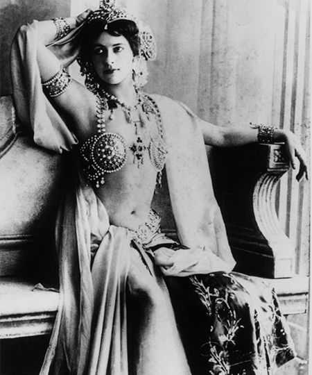 Mata Hari 1910. godine