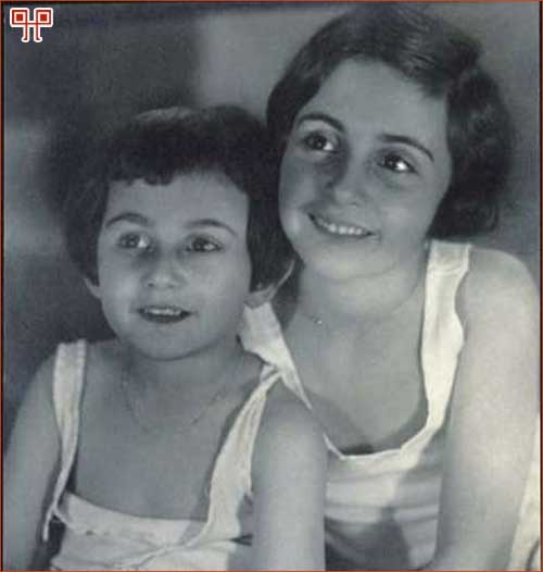 Ana i Margot 1933. godine