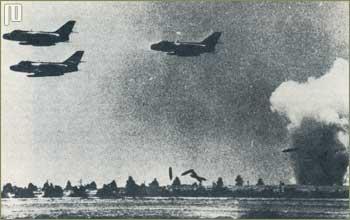 Izraelski zrakoplovi u akcijji na Sinaju 1967. godine