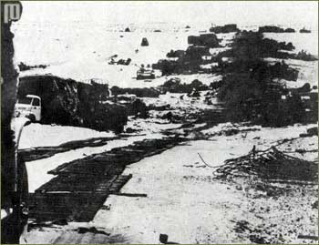 Uništena egipatska motorizirana kolona na Sinaju 1967. godine