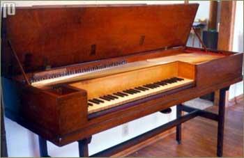 Četvrtasti Broadwood fortepiano iz 1795. godine.