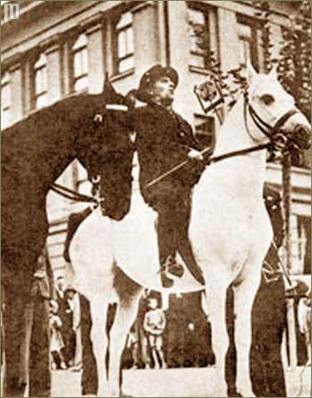 Vladko Maček na konju