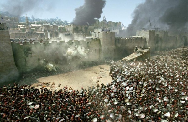 Izvrstan prikaz opsade utvrđenog grada