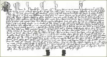 Isprava kojom Albert de Nagmichal potvrđuje ipravu Ivana Paližne, ml. iz godine 1396., u kojoj se prvi put spominje naselje Ivanec