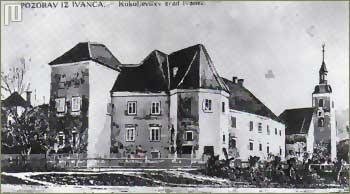 Kukuljevićev grad na snimci iz 1896. godine