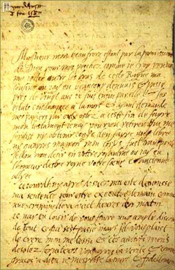 Prvi dio pisma
