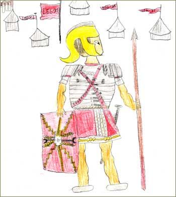 Legionara je nacrtao David Požgaj