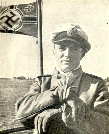 KaLeunt Günther Prien na promatračkom tornju