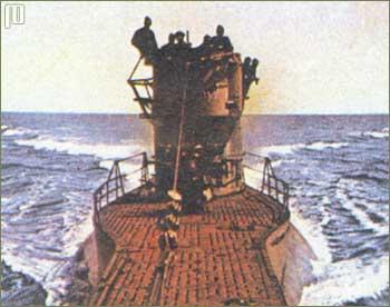 U-47 pri povratku iz Scapa Flowa