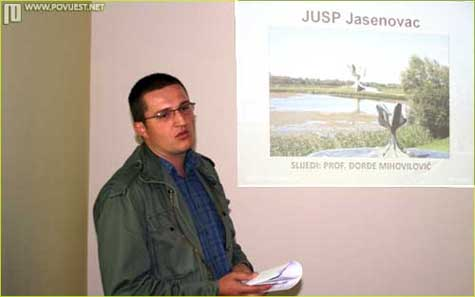 Dorđe Mihovilović, kustos JUSP Jasenovac