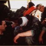 Ranjeni gardisti u Tenji 1991.