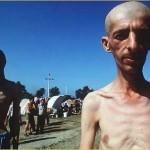 Zarobljeni Hrvati i Muslimani u Trnopolju 1992.