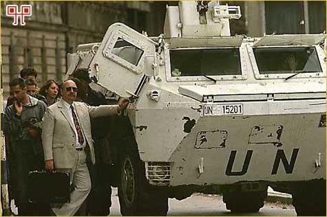 Zaštita pred snajperom u Sarajevu