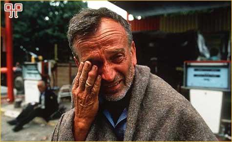 Srbin oplakuje pad Krajine 1995.