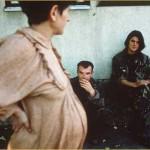 Trudnica kraj bosanske bolnice 1995.