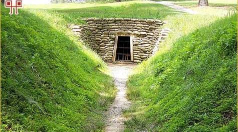 Ovako u današnje vrijeme izgleda ulaz u tunel