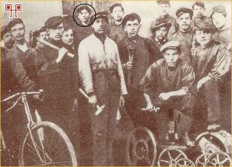 Šegrt Broz na fotografiji iz 1911. godine