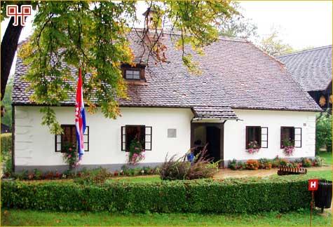 Brozova rodna kuća u Kumrovcu