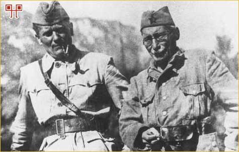 Tito i Moša Pijade u partizanima