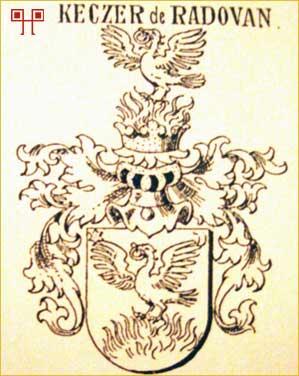 Grb obitelji Keczer de Radovan koja je njegovim dobivanjem dobila pravo progoniti vještice na svom posjedu - Državni arhiv u Varaždinu