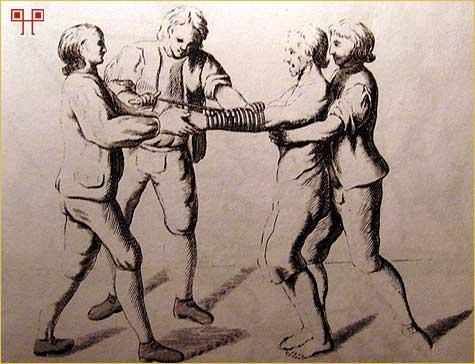 Mučenje vezivanjem ruku - Izvor: Malj koji ubija vještice