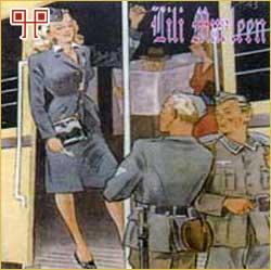 Lili Marlen i druge njemačke ljubavne pjesme za vojnike (omot ploče)