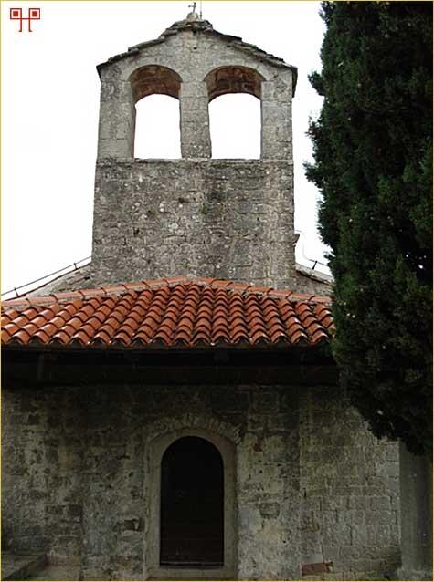 Crkva sv. Jeronima u Humu čiju unutrašnjost krasi ciklus poznatih humskih fresaka