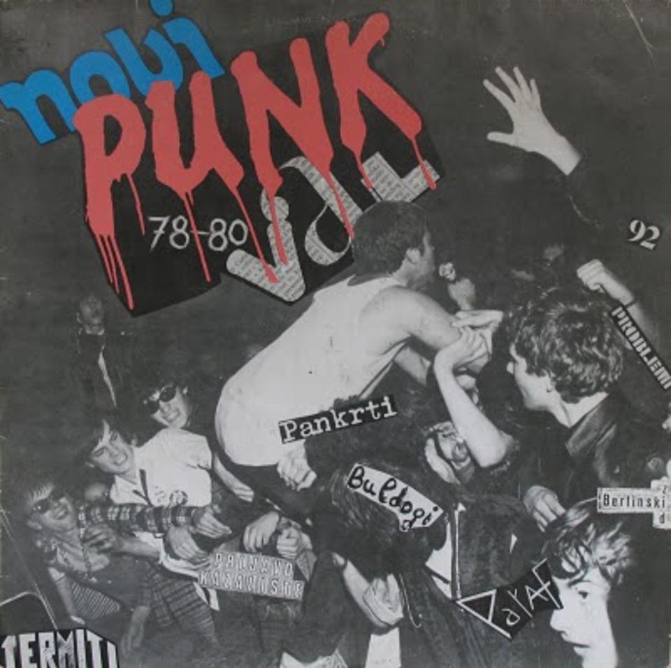 Cover kompilacije 'Novi punk val 78-80'