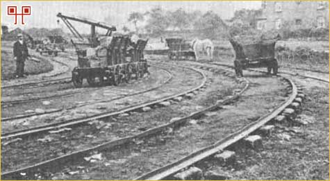 Fotografija Little Eaton Tramroada iz 1908. godine