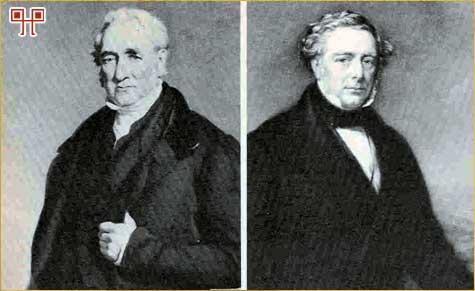 Otac i sin – George i Robert. Često se priča oko lokomotiva pojednostavljuje i sve se svodi na Georgea Stephensona. On definitivno nije izumitelj lokomotive, ali je definitivno vodeći pionirski inženjer u tom polju.