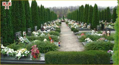 Pogled na dio Memorijalnog groblja hrvatskih branitelja u Vukovaru