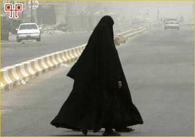 Tradicionalne muslimanke pokrivaju cijelo tijelo (osim eventualno lica, ruke i stopala)