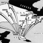Udaljenosti američkih gradova od Kube