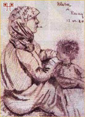 Jedno od šestdeset sačuvanih slikarskih djela Envera-paše