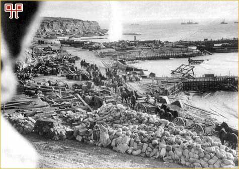 Pripreme za evakuaciju s Rta Helles, 7. siječnja 1916.