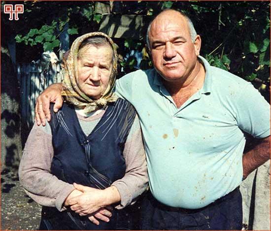 Dragica Šmidlehner i Dan Flesh prilikom ponovnog susreta 1989. godine