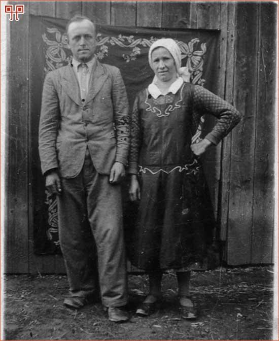 Drago i Dragica Šmidlehner, Selnik, oko 1945. godine