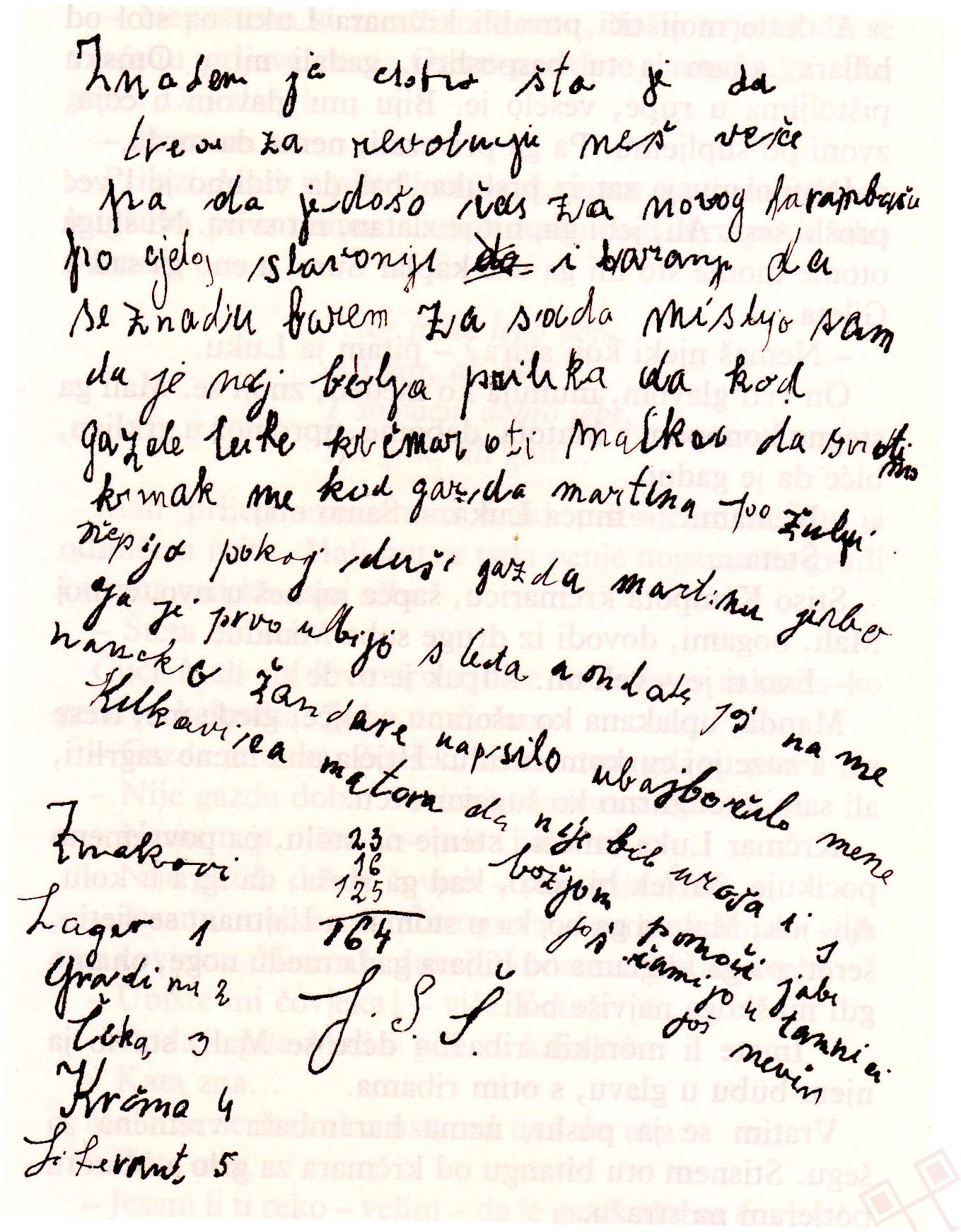 Iz Čarugova dnevnika