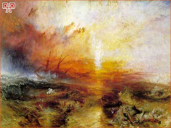 J.M.W. Turner, Oluja – Brod robova