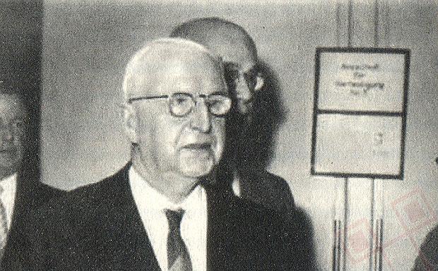 Manstein 1953., na dan izlaska iz zatvora