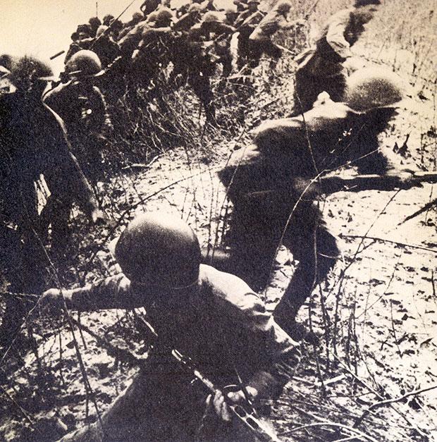 Sovjeti forsiraju rijeku