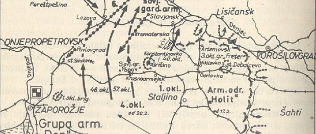 Njemački protunapad u veljači 1943