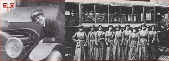 """Tijekom rata žene su preuzele """"muške"""" poslove, ali nakon rata su se u većini slučajeva ponovno posvetile obiteljima. Pravo glasa će uglavnom ostvariti tek nakon Drugog svjetskog rata."""