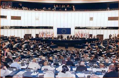 Zasjedanje europskog parlamenta