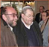 Tomas Haas-Fritta i rabin Karol Sidon